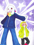 UT Storyshift~Asriel and Chara