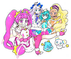 Star Twinkle Precure by dream-thunder
