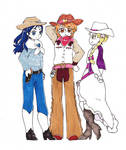 Precure~Pretty Western Max Heart by dream-thunder