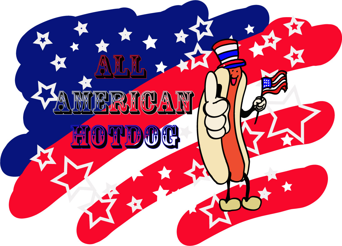 from tablespoon all american hot dog all american hot dog with