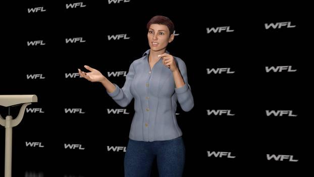 WFL President Jodie Miller