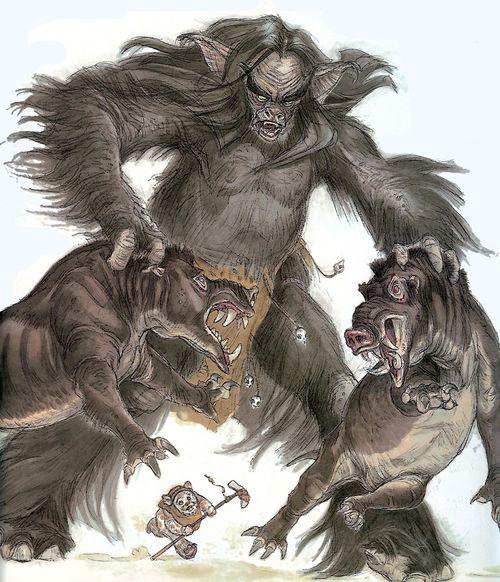 Gorax  Boar Wolves by T-R-E-V
