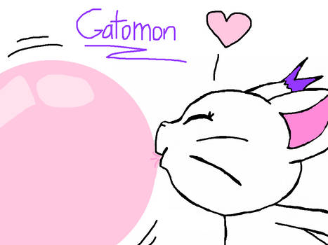 Bubble Gum Gatomon
