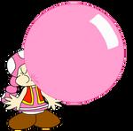 Toadette's Big Bubble Gum