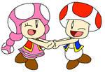 Dancing Toad and Toadette