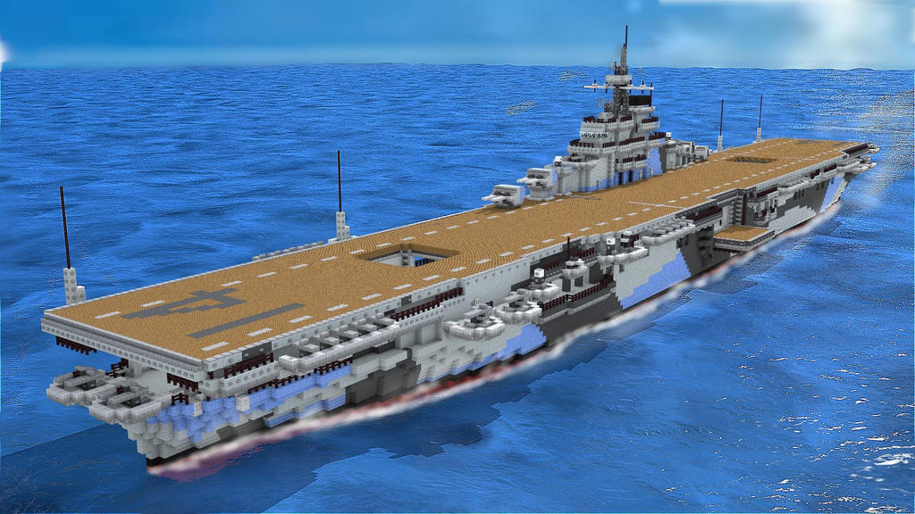 how to draw a aircraft carrier