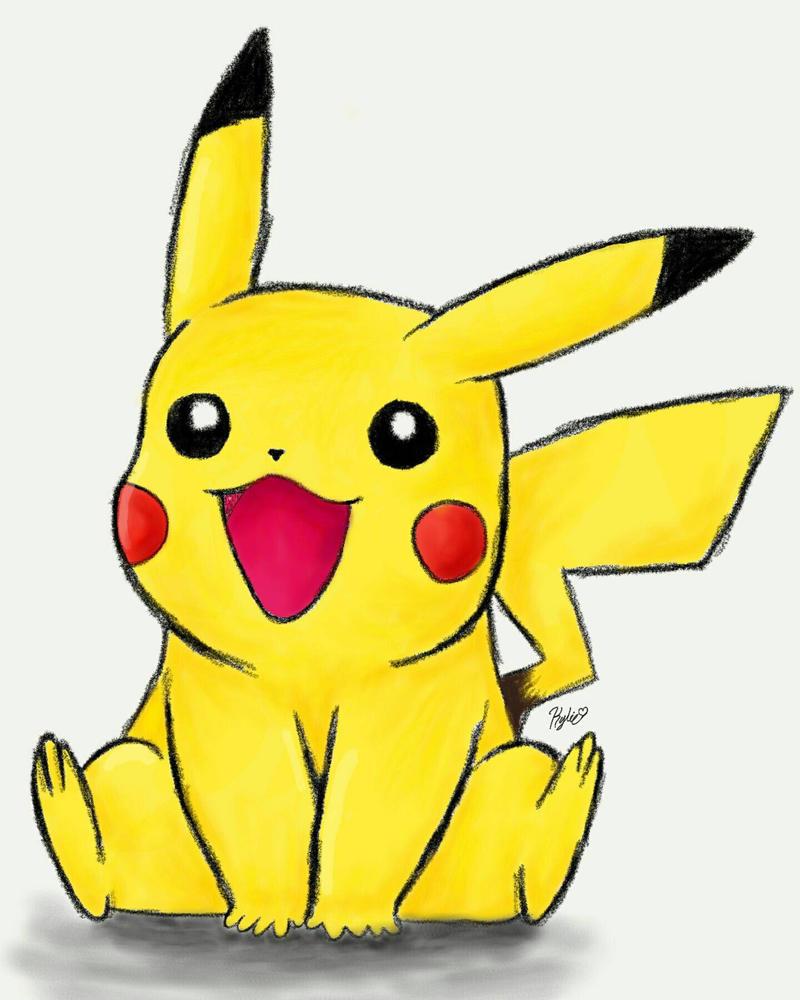 Pikachu  by Kylie711