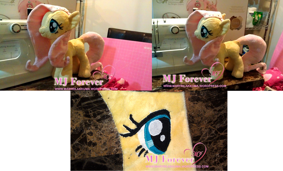 Sewing first pony plushie continued...