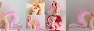 My first ever plushie!  Fluttershy :3 (SOLD!)