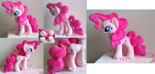 My second plushie - Pinkie Pie!  :D (GIVEN AWAY)