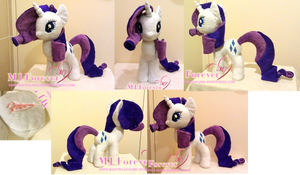 Fourth plushie - Rarity!  :D (SOLD)