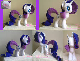 Rarity V2.0 by moggymawee