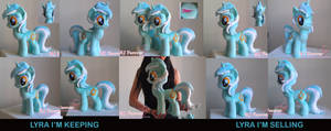 Lyra Heartstrings Plushie x2! (SOLD!)