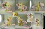 Fluttershy plushie (commission)