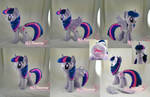 Princess Twilight Plushie (removable wings!)