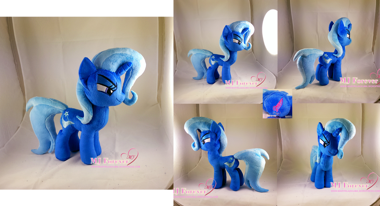 Trixie plushie (SOLD!) by moggymawee