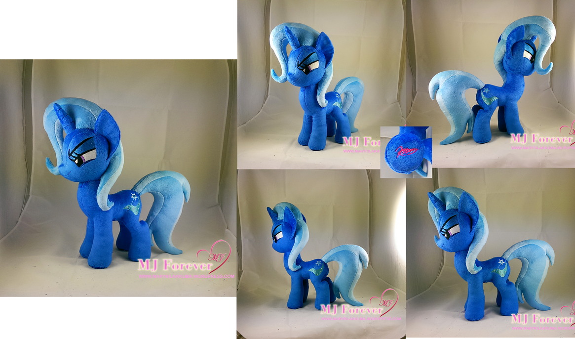 My Trixie plushie #2! by moggymawee