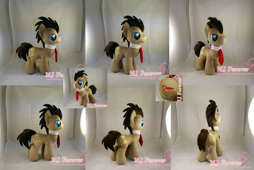 Dr Whooves plushie (my 1st stallion!  :)) FOR SALE