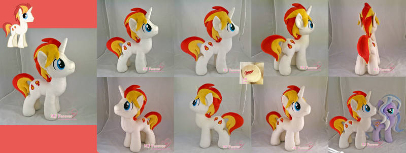 Eclipse Flare Plushie (OC stallion)