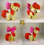 Apple Bloom plushie (FOR SALE)
