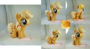 Applejack filly plushie (commission)