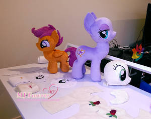 WIP pony projects!!!