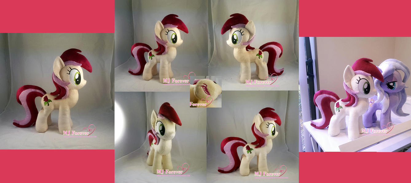 Roseluck plushie #2 by moggymawee