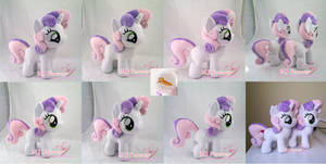 Sweetie Belle Plushies! (commission + mine)
