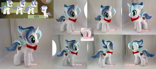 Tax Rise Plushie (commission) by moggymawee