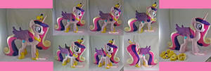Princess Cadence Plushie ^^ by moggymawee