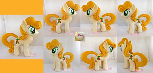 Carrot Top/Golden Harvest Plushie by moggymawee