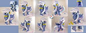 Dusk plushie (stallion OC)