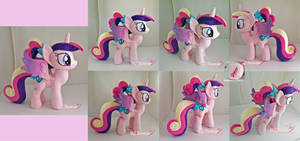 Foalsitter Cadence Plush :) by moggymawee