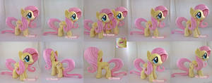 Fluttershy plushies x2 (one is for sale!) by moggymawee