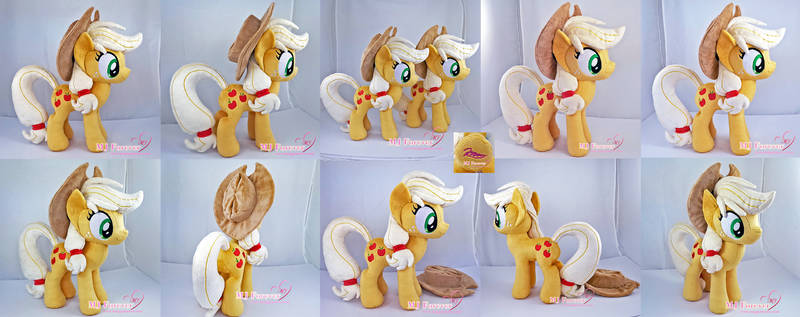 Applejack Plushie x2 (one is for sale!)