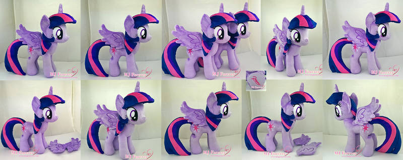 Twilight Sparkle Plushie x2 (one is for sale!)