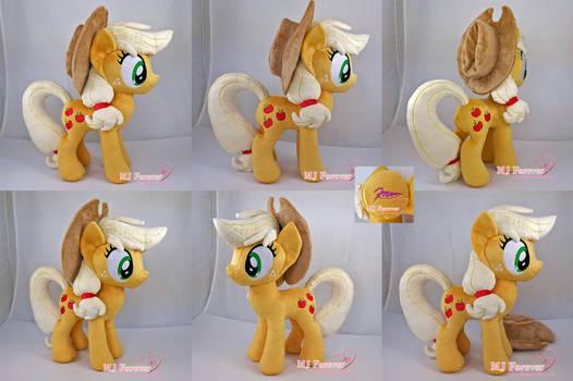 Applejack plushie (private commission)