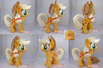 Applejack plushie (private commission)