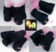 Commission: Applejack black boots