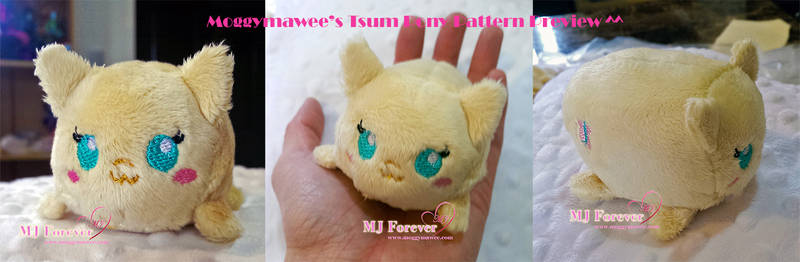 Tsum pony pattern preview ^^