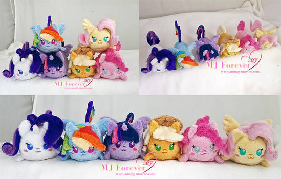 My Little Pony: Mane 6 tsums!