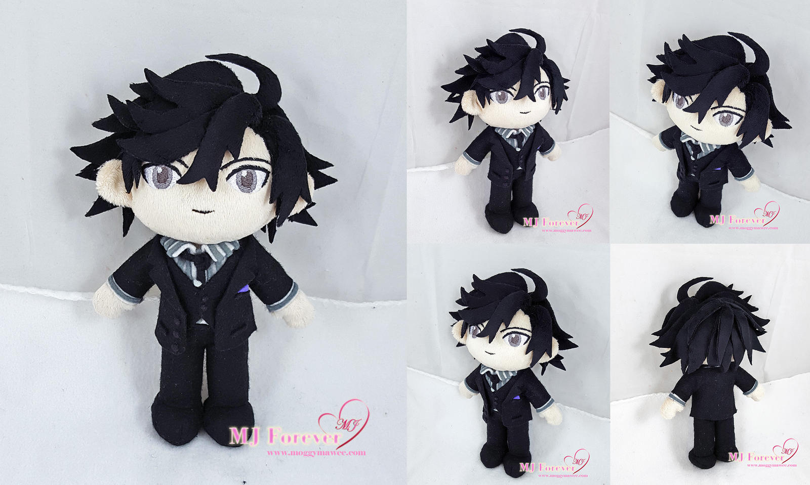 Jumin Plush! (Mystic Messenger) by moggymawee