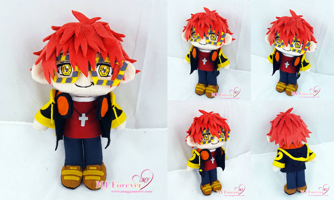 707 (aka Seven/Luciel) plush!  (Mystic Messenger) by moggymawee