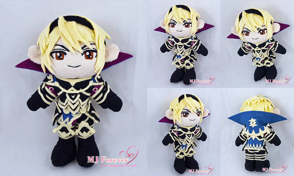 Leo Plush (Fire Emblem Fates) by moggymawee