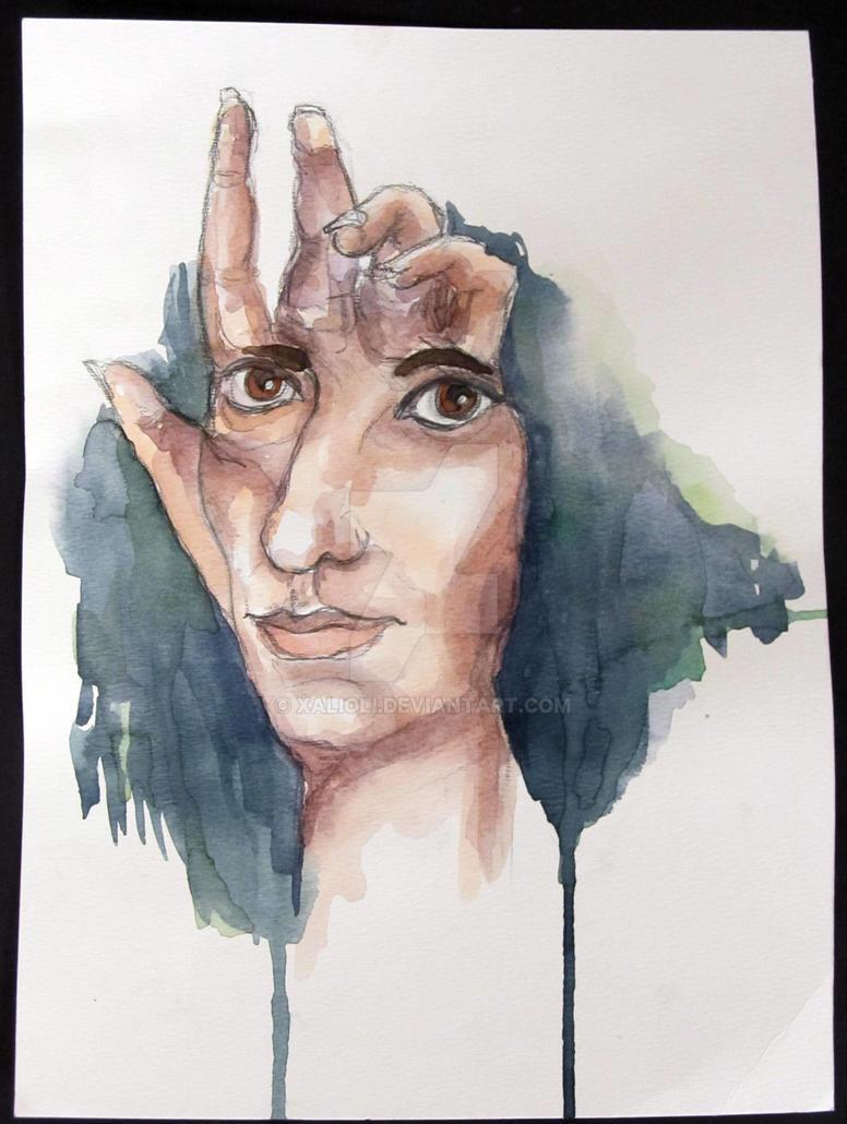 Self Portrait by XaliOli