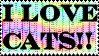 Cat Stamp by Auslander96