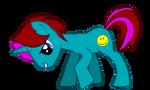 Mr Nice Pony with cutiemark