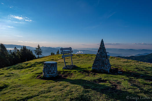 On top of Smrekovec hill