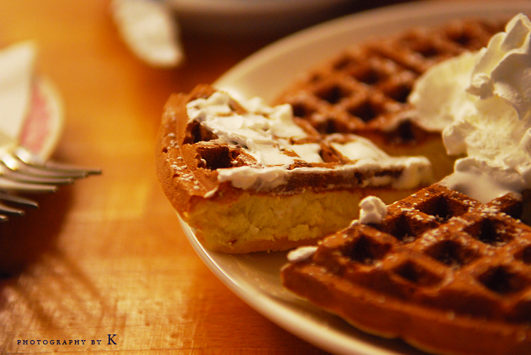 yummy waffle by reiime