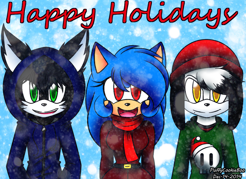 Happy Holidays by PuffyCookieBoo